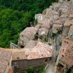 Sorano, Tuscany.